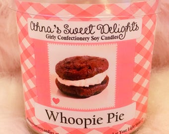 Whoopie Pie Girly Confectionery Soy Candle