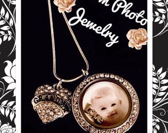 Custom Photo Necklace