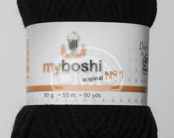 My Boshi yarn black 196