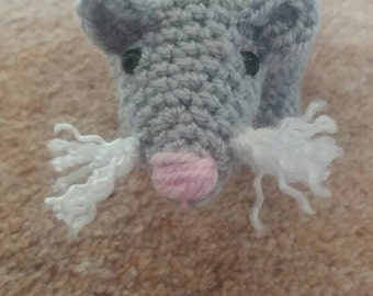 Rat Amigurumi Crochet Pattern