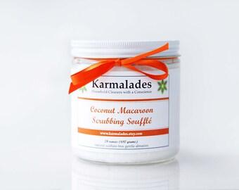 24 oz. Coconut Macaroon Scrubbing Souffle