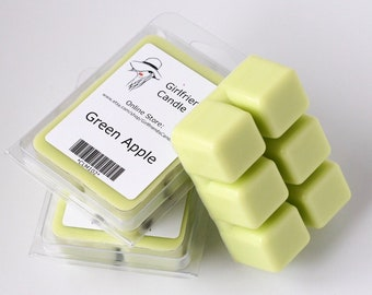 Green Apple Scented Wax Melt