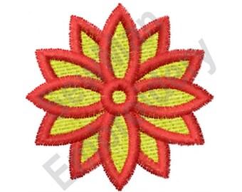 Flower - Machine Embroidery Design