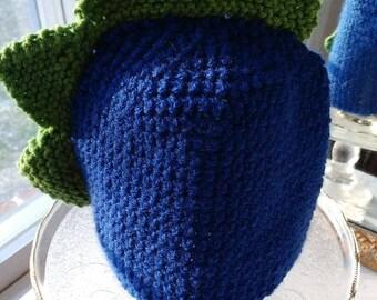 Crocheted Dinosaur Hat