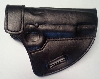 Open Top Leather Holster