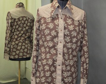 Vintage 1960's  Women's Western shirt