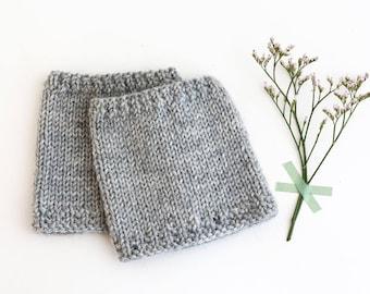 ALUMINIUM Baby leg warmers