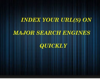 Indexing Your URL- Major Search Engine Sites - SEO Strategy - Website - Keywords - Search Terms - Online Store - How To