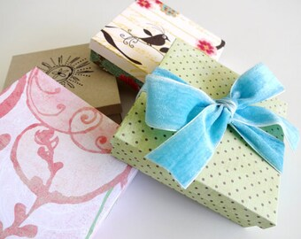 DIY Printable Gift Box Template - 3.75 inches by 3.75 inches by 1 inch