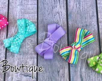 Toddler Hair Clip Set, Hair Bow Set