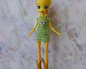 Equestria girls dress, fashion doll clothing, pony girl's dress