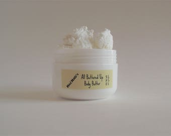 Body butter lotion Mad Matti's  All Buttered Up Body Butter scented