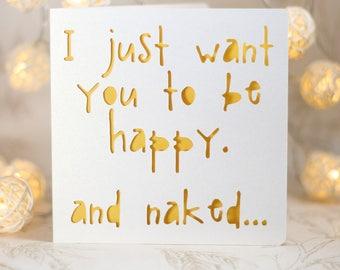sarcastic birthday card, card for him ,card for her, kooky card, , sexy birthday card, funny birthday card, snarky card, sarcastic card