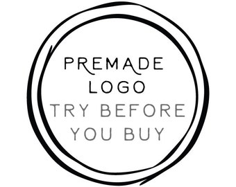 Add-on 'Try Before You Buy A Premade Logo' // Solipandi Design Studio