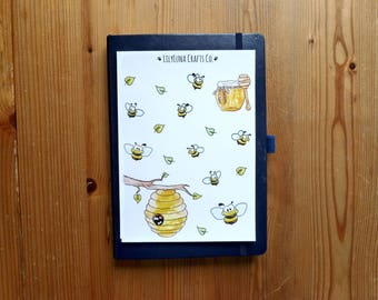 Honey Bee Decorative Bullet Journal and Planner Stickers