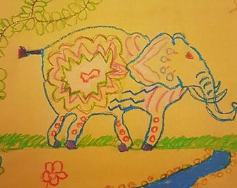 Greeting Card - Izzy's Elephant
