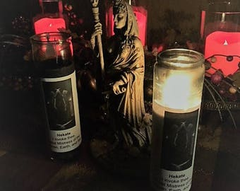Hekate Devotional Candle