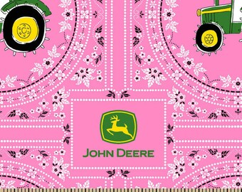 John Deere Cotton Fabric by the Yard