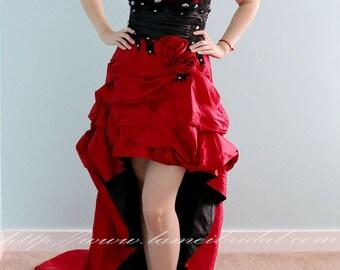 Short Red Wedding Dress