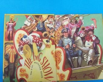 The Wonder Book of Clowns 1955