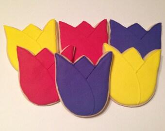 Tulip Sugar Cookies