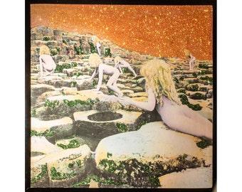 Glittered Led Zeppelin Houses of the Holy Album Side 1