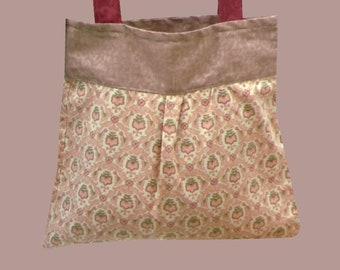 Jonell Fabric / Tote Bag / Unlined / Cotton /