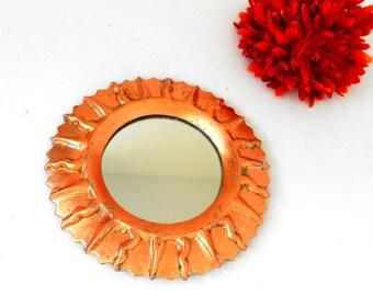 Sunburst Mirror Small Wall Mirror Accent Mirror Modern Round Mirror Sunburst Wall Mirror Beach House Mirror Sunburst Wall Art Coastal CLSM50