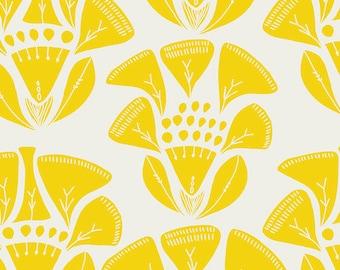 Tule Folklore in Sunray, Leah Duncan, Art Gallery Fabrics, 100% Cotton Fabric, TL-40021