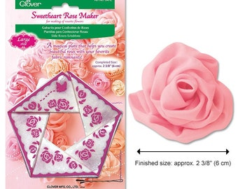 Large Sweetheart Rose Maker by Clover CL8472