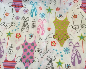 Two Yards of Ballerina Fabric