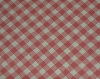Michael Miller Bias Check Cotton Fabric - 1 Yard