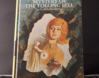 Nancy Drew Mystery of the Tolling Bell - Volume 23 - 1973+ edition