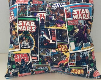16x16 Disney Star Wars Pillow Cover for Bedroom, Nursery, Game Room, Kids Reading Area, or Gift
