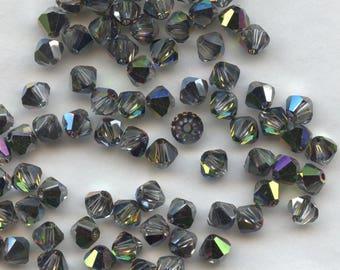 T4 5301 VM *** 20 bicone beads crystal Swarovski 5mm crystal vitrail medium