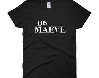 His Maeve Women's short sleeve t-shirt