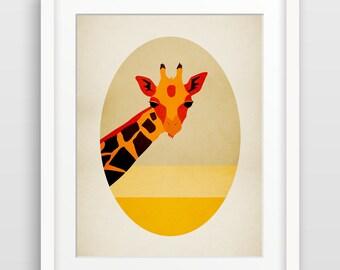 Giraffe Print, Safari Nursery Decor, Giraffe Baby Shower, Safari Baby Shower, Safari Nursery Prints, Nursery Wall Art, Kids Room Decor