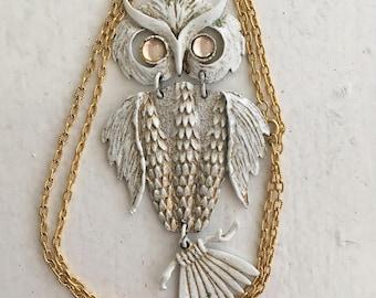 Seventies Owl Pendant