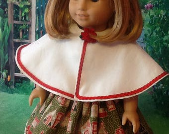 "Doll Cape for 18"" dolls/AG"
