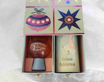 1950s Helena Rubinstein Heaven Scent EDT and Powder Chrristmas Gift Set