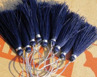 SILK TASSEL bead artisanal  HANDMADE