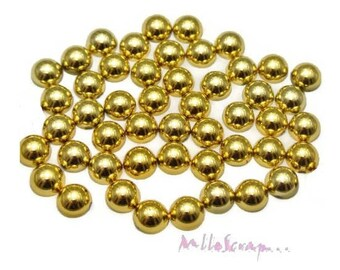 Set of 20 jelly Golden stick 8 mm Christmas scrapbooking embellishment *.