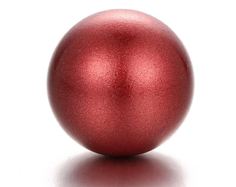 Red Metallic Chime Ball for Mexican Angel Caller