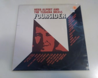 Herb Alpert and The Tijuana Brass - Foursider VG++ Original Press A&M SP-3521 Record 1973 - Play Tested Latin Pop jazz