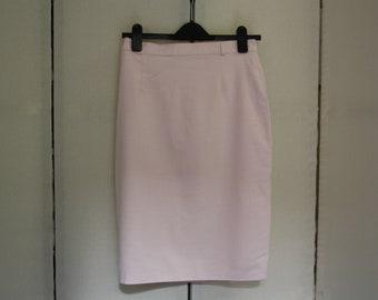 Pretty Vintage Pink Gingham Pencil Skirt