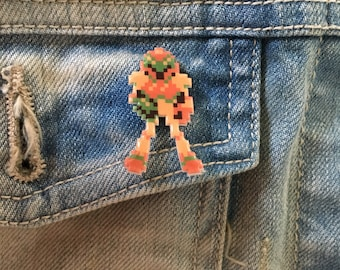 samus - metroid pin