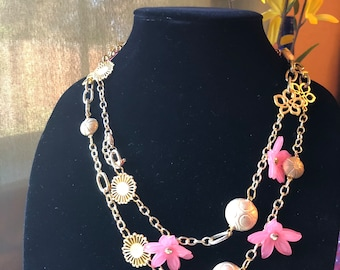 Spring fling necklace!