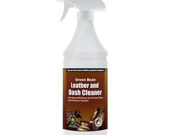 Leather Cleaner & Conditioner,   Leather and Dash 32 oz