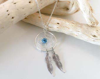 Necklace dream catcher Silver 925
