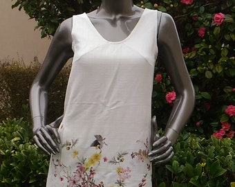 THE bird dress (short dress with side pockets)